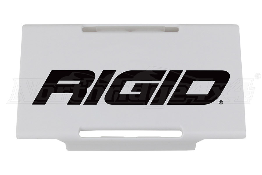 Rigid Industries E-Series 6IN Light Cover, White (Part Number:106963)