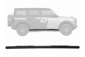 Go Rhino 5in 1000 Series Side Step Kit - Textured Black - Ford Bronco 4Dr