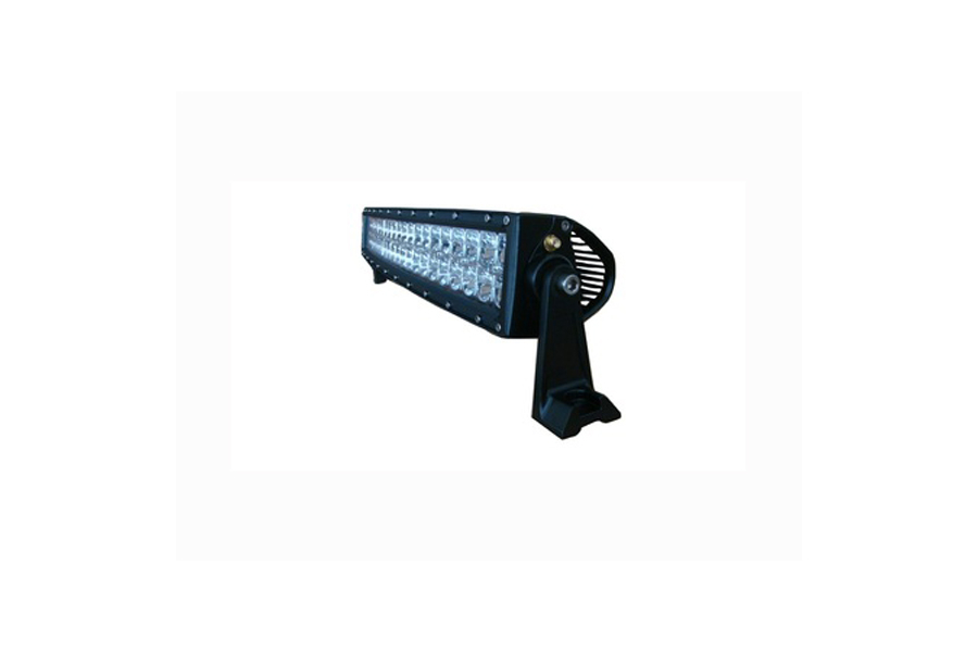 ENGO 120W 20in Curved LED Amber/White Multi-Function Light Bar