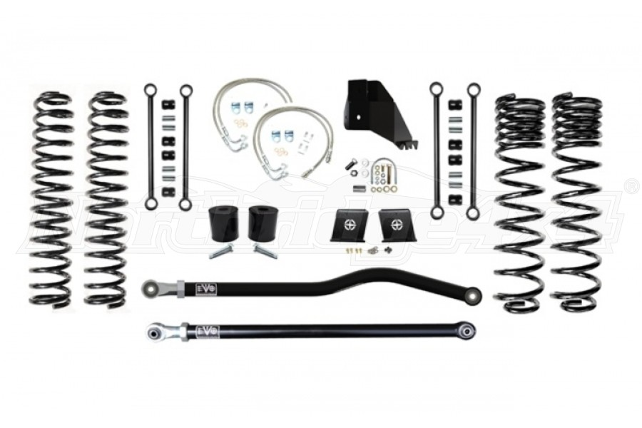 EVO Manufacturing 6.5in Enforcer Lift Kit Stage 1 PLUS - JT