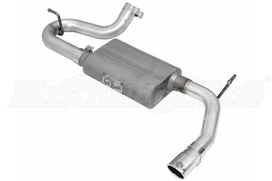 AFE Power Scorpion Axle-Back Exhaust System - JK