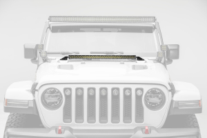 T-REX ZROADZ Hood Cowl LED Mount Kit w/one 30in Single Row Slim Line LED Light and Universal Wiring Harness (Part Number: )
