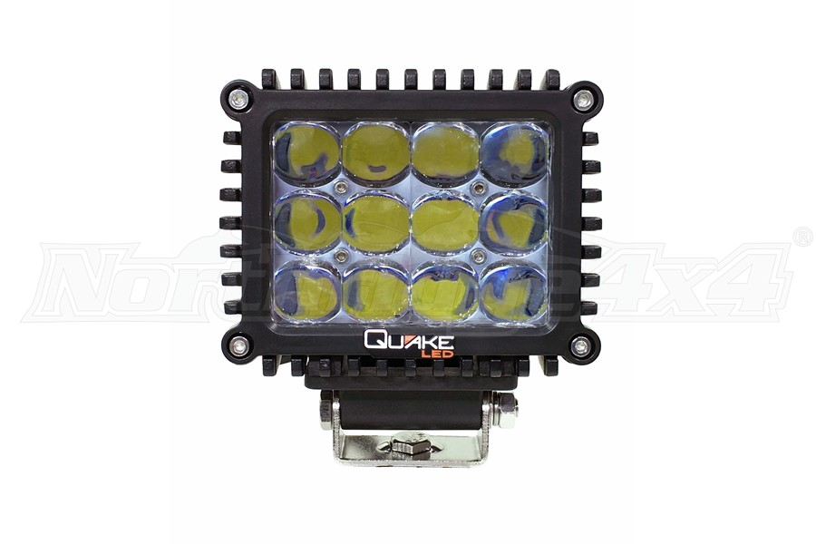 Quake LED 4in 60W Spot RGB Accent Work Light