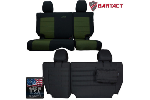 Bartact Rear Split Bench Seat Cover - JK 4dr 2011-12