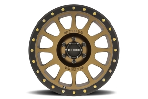 Method Race Wheels 305 NV Series Wheel, 17x8.5 6x5.5 - Bronze  - Ford Bronco