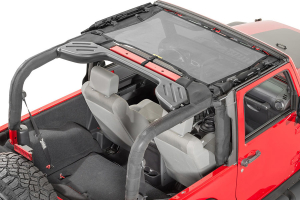 Dirty Dog 4x4 Front Seat Sun Screen Grey (Part Number: )