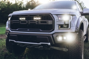 Rigid Industries Triple Fog Light Kit - 2017 Ford Raptor