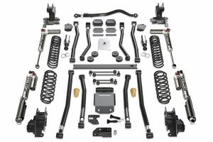 Teraflex Alpine RT3 3.5in Long Arm Lift Kit -  w/Falcon SP2 3.3 Adjust. Shocks - JL 4dr