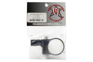 Rigid Industries Horizontal Bar Light Mount Black 1.5in