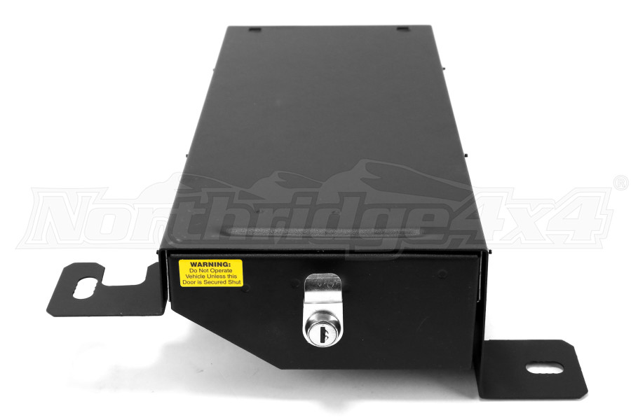 Jeep Jk Tuffy Security Conceal Underseat Drawer Black