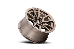 Icon Vehicle Dynamics Vector 5 Matte Bronze Wheel 17x8.5 5x5 - JT/JL/JK