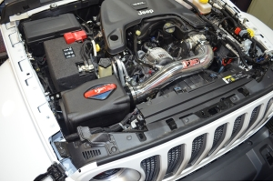 Injen Technology Cold Air Intake System W/Twist-Lock PowerFlow Box and SuperNano Air Filter, Polished - JL 3.6L