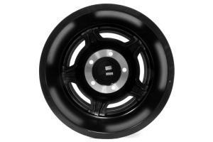 ATX Wheels Slab Series Wheel Black w/Machined Lip 17x9 5x5.5 (Part Number: )