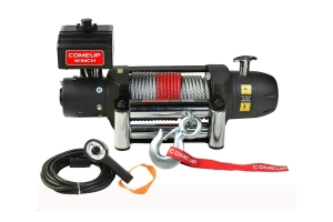 Comeup Seal Gen2 Series 12.5 Recovery Winch w/ Wire Rope (Part Number: )