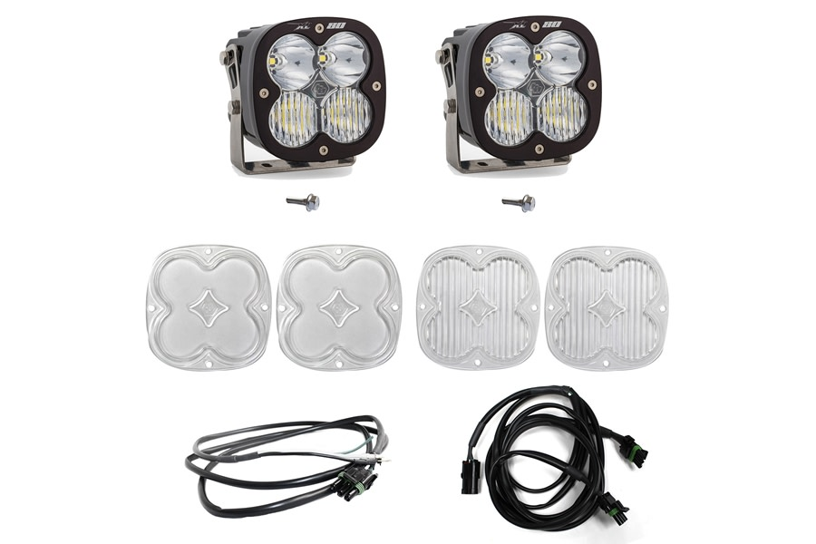 Baja Designs XL80 Series A-Piller Light Kit w/ Upfitter  - Bronco Sport