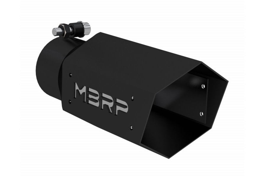 MBRP Black Series Universal 4in Hex Exhaust Tip