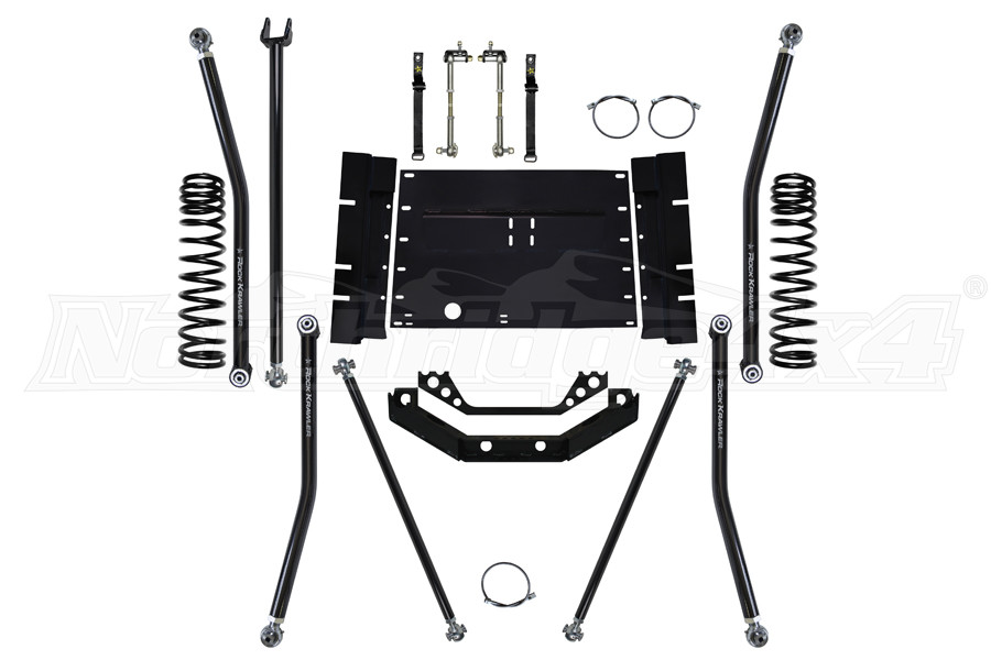 Rock Krawler 3.5 X Factor Long Arm System (Part Number:TJ35XFLA-01)