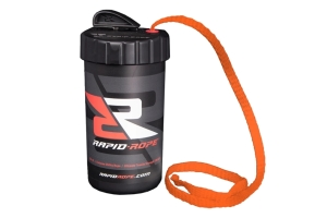Rapid Rope Canister w/ 120ft of Rope - Orange