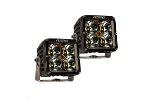Rigid Industries Radiance XL Pod Amber Backlight, Pair