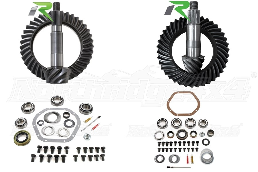 Revolution Gear and Axle Package (Part Number:GEARJKRUBICONPKG)