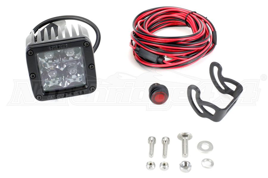 Rigid Industries D-Series LED Spot Light  (Part Number:201213BLK)
