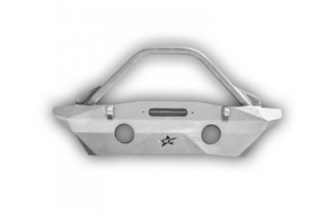 Crawler Conceptz Ultra Series Mid Width Front Bumper w/Recessed Winch Mount, Bar and Tabs Bare (Part Number: )