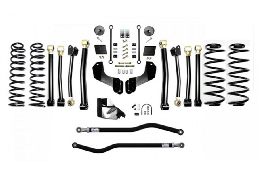 Evo Manufacturing 4.5in Enforcer Overland Stage 4 PLUS Lift Kit  - JL 4Dr Diesel