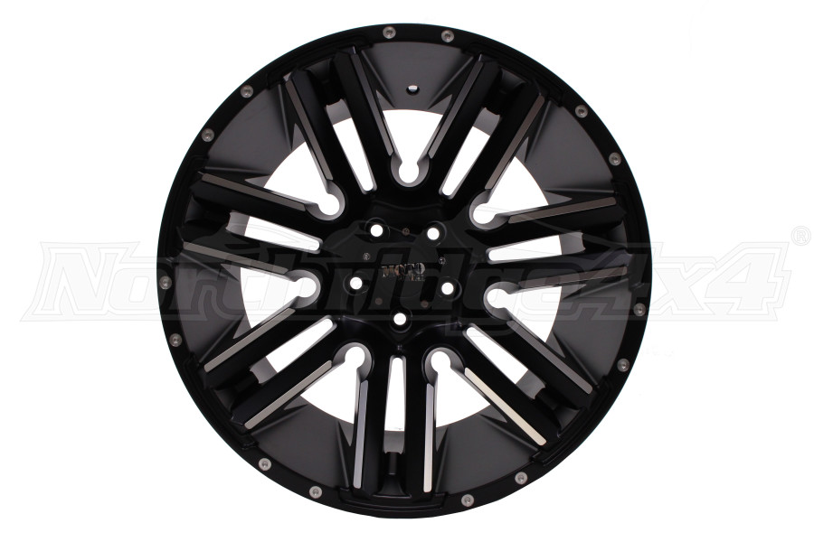 Moto Metal RAZOR Wheel 20x10 5x127 Satin Black (Part Number:MO97821050524N)