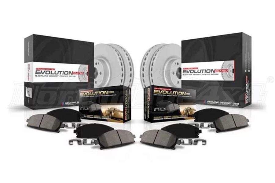 Power Stop Z17 Evolution Front and Rear Brake Kit - JL