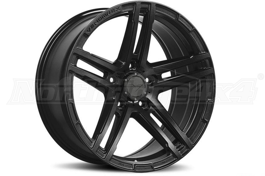 Venomrex VR501 Coal Black Wheel 17x9 5x5  - JT/JL/JK