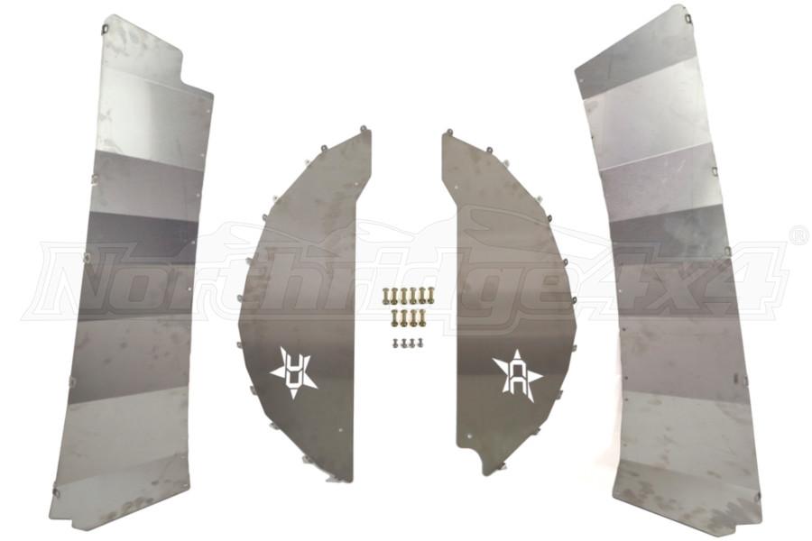 Crawler Conceptz Ultimate Aluminum Rear Inner Fender Kit (Part Number:ULT-RLN-001)