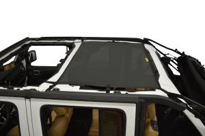 Dirty Dog 4x4 Sun Screen Rear - Black (Part Number: )