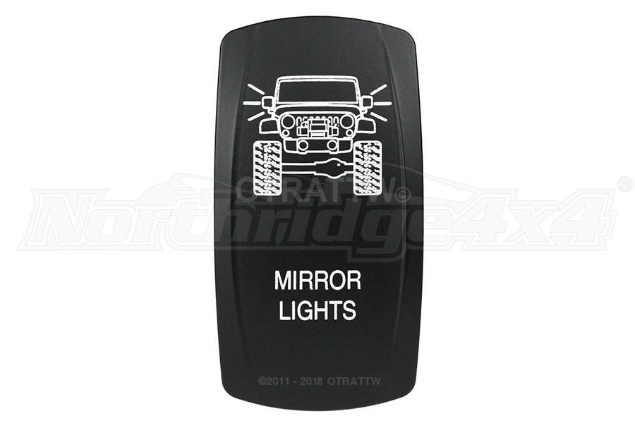 sPOD Mirror Lights Rocker Switch Cover
