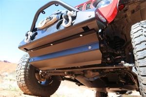 Rock Hard 4x4 Sway Bar Motor Skid Plate  - JL 3.6L