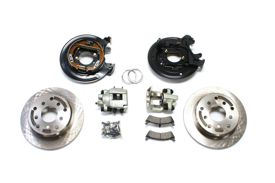 Teraflex Ford Rear Disc Brake Conversion Kit - TJ/LJ