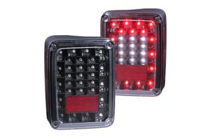 Anzo USA Black LED Tail Lights