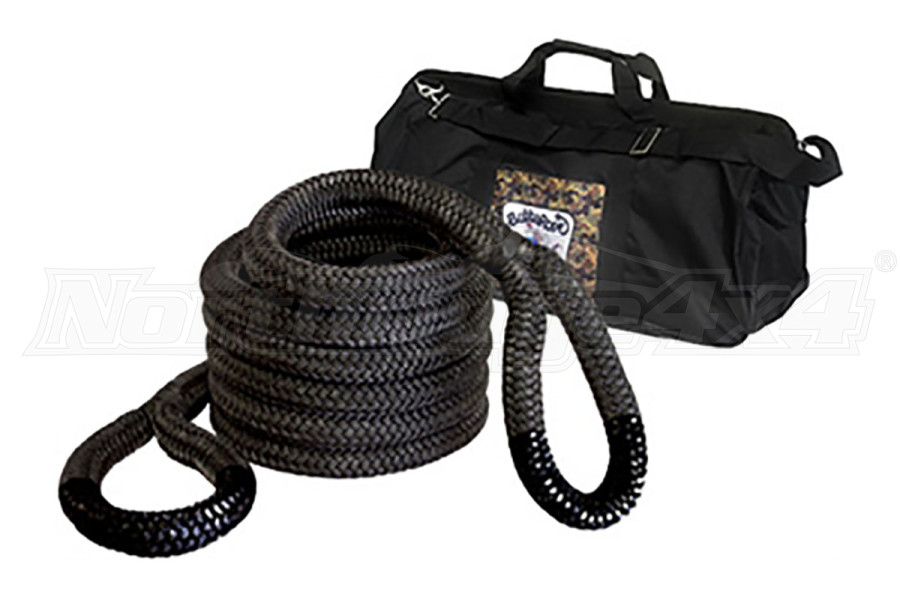 Bubba Rope Extreme Bubba 131,500lb Rope Black Eyes (Part Number:176750BKG)