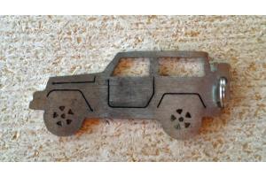 WD Automotive 2 Door Keychain