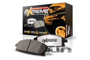 Power Stop Z36 Extreme Truck and Tow Carbon-Ceramic Brake Pads, Front  (Part Number: )