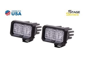 Diode Dynamics SSC2 2in Pro Standard Flood Light BBL, Pair