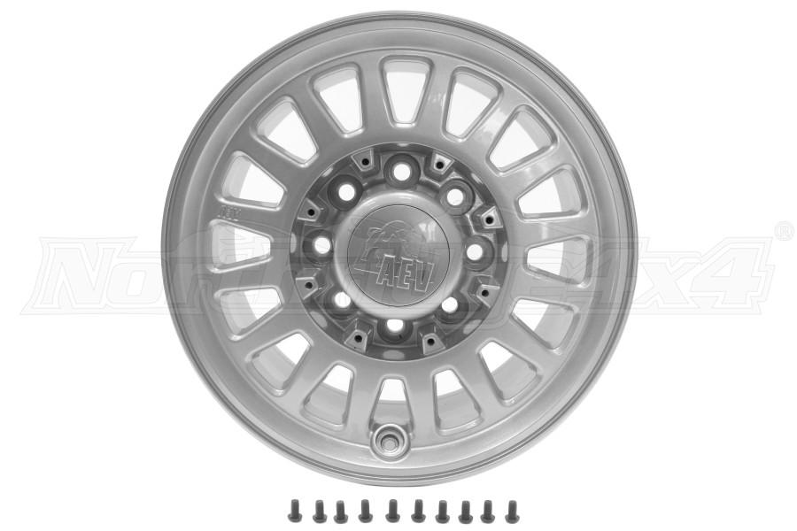 AEV Salta HD Wheel Silver 17x8.5 8x6.5 (Part Number:20403413AA)
