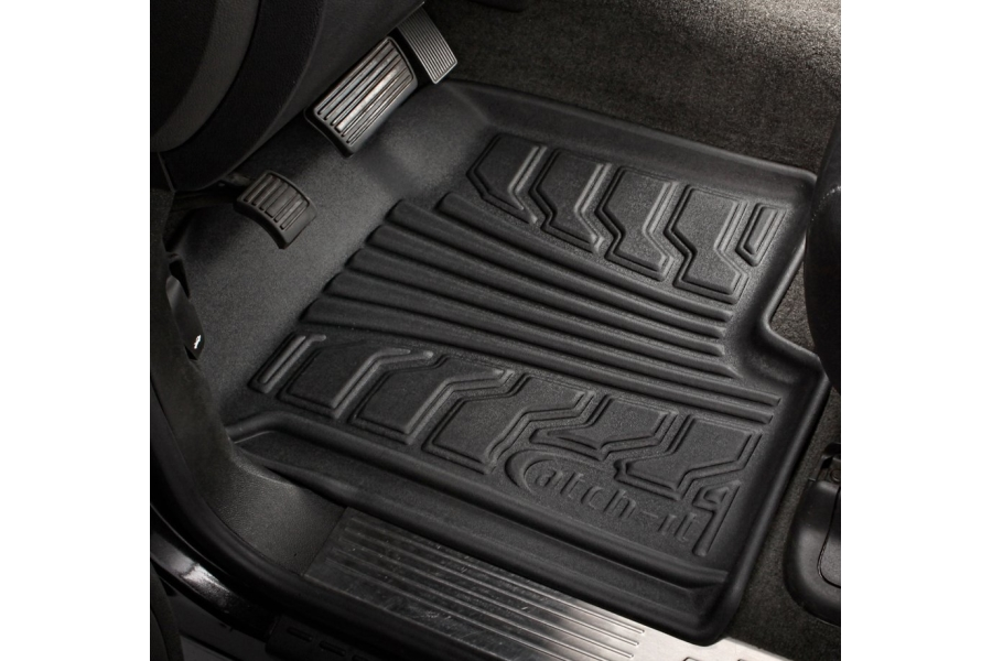 Lund Catch-It Vinyl Front Floor Mats, Black (Part Number:283144-B)