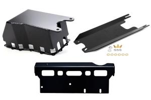 EVO Manufacturing ProTek Manual Trans Skid System for Long Arms JK 2007-11
