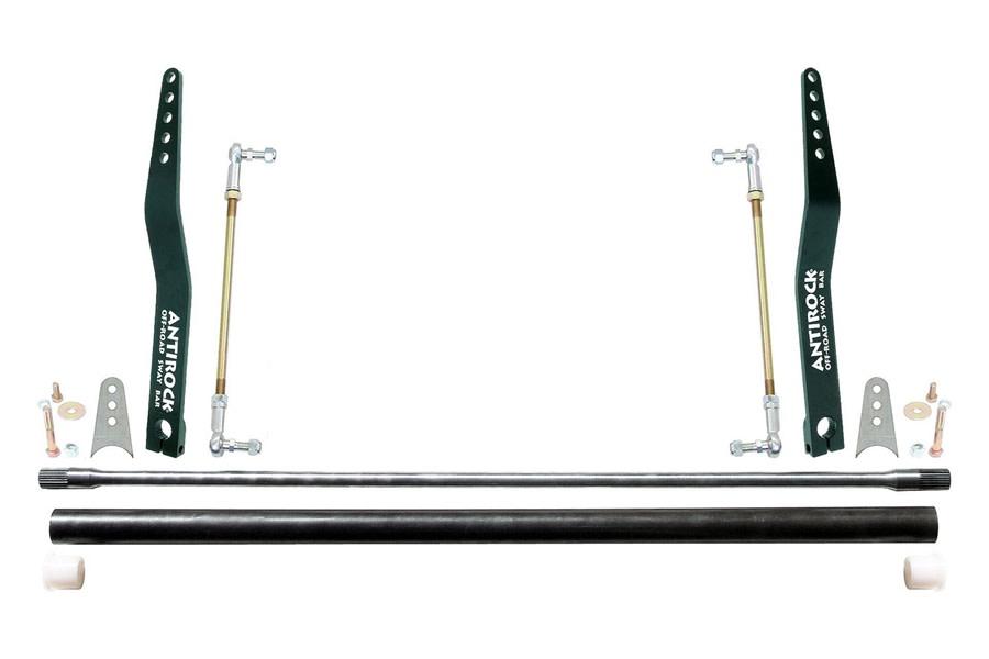 RockJock Universal Anti-Rock Sway Bar Kit w/ 32in Bar and 20in Bent Steel Arms