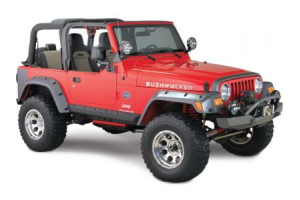 Bushwacker 4.75in Pocket Style Fender Flares - TJ/LJ