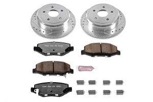 Power Stop Z36 Extreme Truck and Tow Brake Set, Rear  (Part Number: )