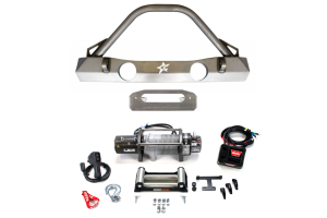 Crawler Conceptz Ultra Series Front Bumper and Warn M8000 Winch Package ( Part Number: WRNPKG-4)