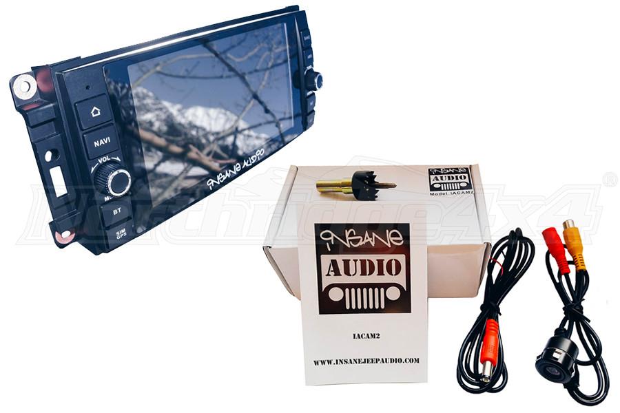 Insane Audio Head Unit & Camera Package (Part Number:ANEPKG1)