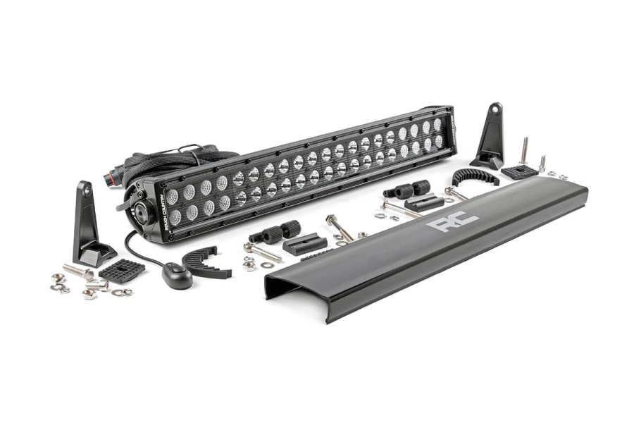 Rough Country 20in Black Series Dual Row Light Bar (Part Number:70920BL)