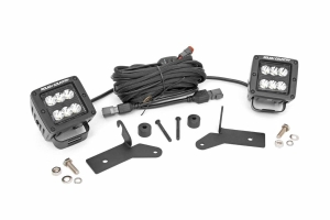 Rough Country 2in LED Lower Windshield Kit  (Part Number: )